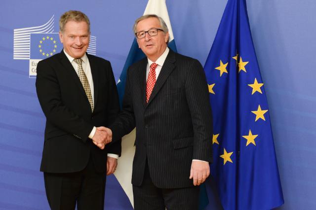 Visit of Sauli Niinistö, President of Finland, to the EC