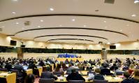 General view of the public at the EP