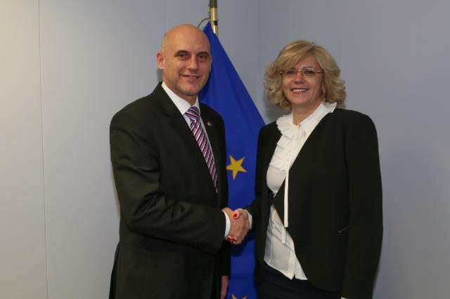 Visit of Tóbiás József, Chairman of the Hungarian Socialist Party, to the EC