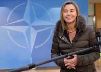 Participation de Federica Mogherini, vice-présidente de la CE, à une réunion des ministres de la Défense de l'OTAN