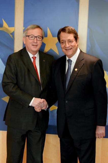 Visit of Nicos Anastasiades, President of Cyprus, to the EC