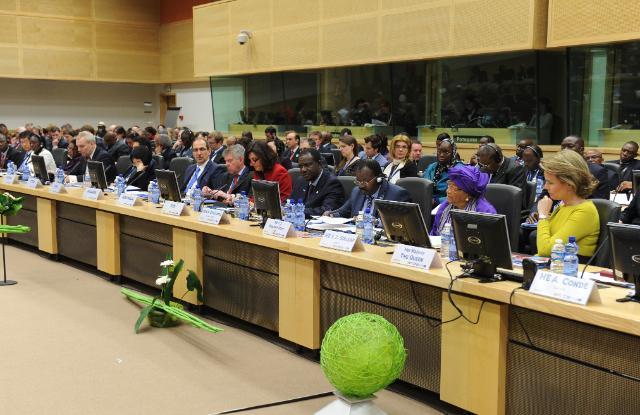 High-level international conference on Ebola, 03/03/2015