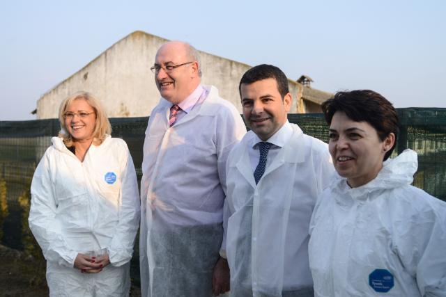 Visite de Corina Creţu et Phil Hogan, membres de la CE, en Roumanie