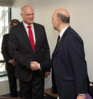 Visit of a delegation of the SPD Members of the German Bundestag to the EC