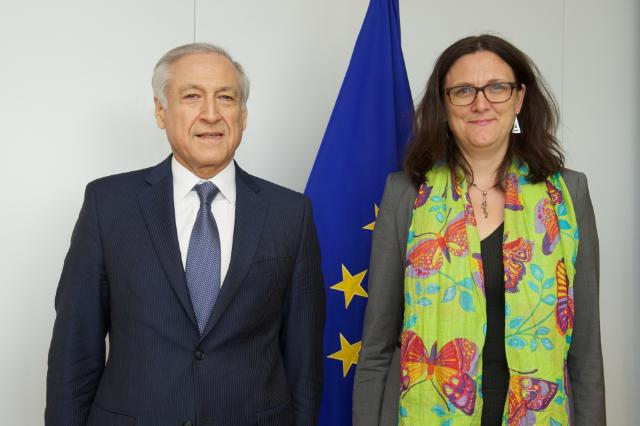 Visit of Heraldo Muñoz Valenzuela, Chilean Minister for Foreign Affairs, to the EC