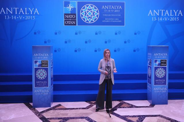 Participation of Federica Mogherini at the NATO meeting of Ministers of Foreign Affairs