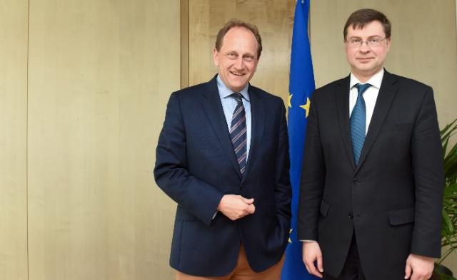 Visit of Alexander Graf Lambsdorff, Vice-President of the EP, to the EC