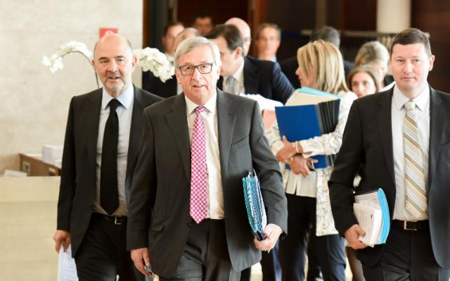 """Illustration of """"Weekly meeting of the College of the Juncker Commission"""""""
