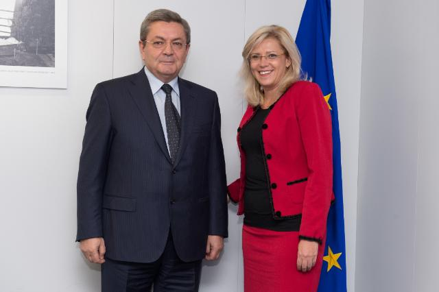 Visit of Ioan Rus, Romanian Minister for Transport, to the EC