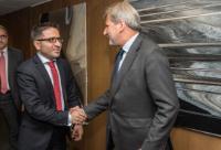 Visite de Fatmir Besimi, vice-Premier ministre chargé des Affaires européennes de l'ancienne République yougoslave de Macédoine, à la CE