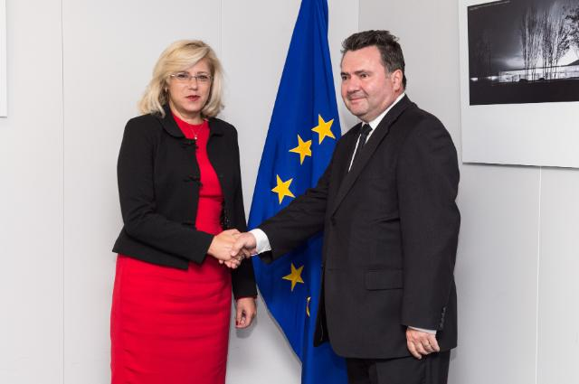 Visit of Tudor Prisecaru, Romanian Secretary of State for Research at the Ministry of National Education, to the EC
