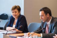 Visite d'une délégation de maires de Bulgarie à la CE