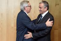 Visite de Mustafa Akinci, chef de la communauté chypriote turque, à la CE