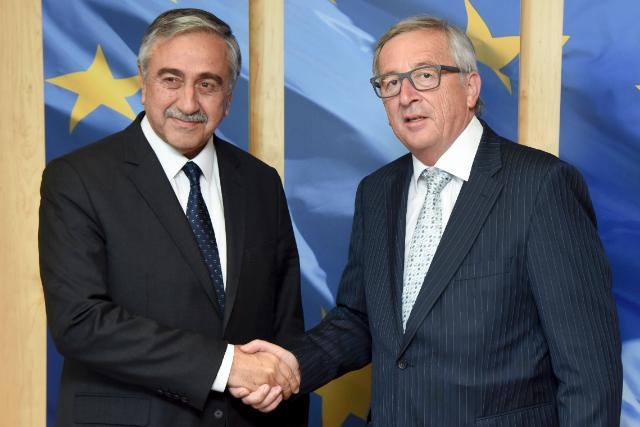 Visit of Mustafa Akinci, Leader of the Turkish Cypriot Community to the EC