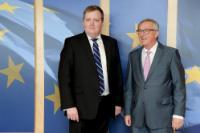 Visit of Sigmundur Davíð Gunnlaugsson, Icelandic Prime Minister, to the EC