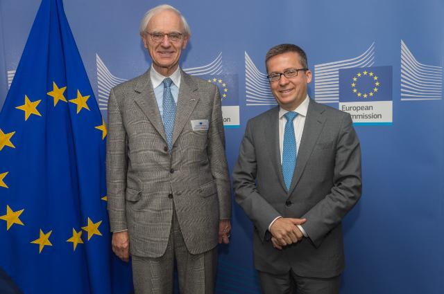 Visit of Onno Ruding, Chairman of the Governance Board of TuBerculosis Vaccine Initiative, to the EC