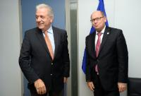 Visit of Urban Ahlin, Speaker of the Swedish Parliament, to the EC