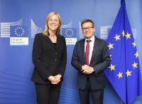 Visit of Dörte Höppner, CEO of Invest Europe, to the EC