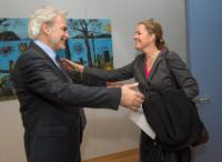 Visit of Kelly T. Clements, Deputy High Commissioner for Refugees at UNHCR, to the EC