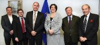 Visit of members of the European Business Aviation Association, to the EC