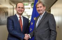 Visit of Ditmir Bushati, Albanian Minister for Foreign Affairs, to the EC
