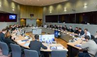 Visite des représentants des municipalités slovènes à la CE
