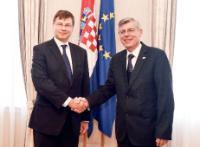 Visit of Valdis Dombrovskis, Vice-President of the EC, to Croatia
