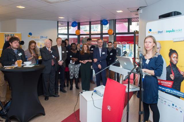 Participation of Marianne Thyssen, Member of the EC, in the micro credit week organised in Antwerp