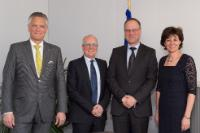 Visit of a delegation from AmCham EU to the EC