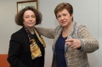 Visit of Ana Palacio Vallelersundi, former Spanish Minister for Foreign Affairs, to the EC