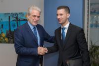 Visite de Lukáš Parízek, secrétaire d'Etat slovaque au ministère des Affaires étrangères et européennes, à la CE