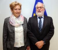Visite d'Irena Majcen, ministre slovène de l'Environnement et de l'Aménagement du territoire, à la CE