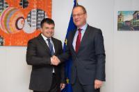 Visite de Peter Plavčan, ministre slovaque de l'Education, des Sciences, de la Recherche et du Sport à la CE