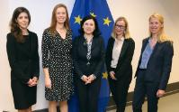 Visit of representatives from social media organisations to the EC