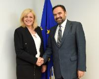 Visit of Alexandru Capatu, Chairman of the board of Pro Danube International, to the EC