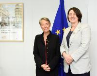 Visit of Elisabeth Borne, CEO of RATP, to the EC