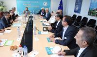Visite de Ghader Ghorbani Asl, attaché scientifique de l'Iran pour l'Espace Shengen, à la CE