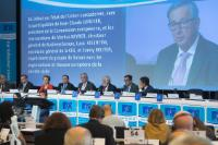 Participation of Jean-Claude Juncker, President of the EC, in a debate on the state of the Union during the plenary session of the EESC