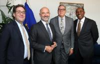 Visit of representatives of the Universal Music Group to the EC