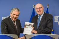 Joint press point by Phil Hogan, Member of the EC, and Cees Veerman, Chairman of the Agricultural Markets Task Force (AMTF) on the occasion of the handover of the report on the position of farmers in the food supply chain
