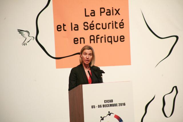 Visit of Federica Mogherini, Vice-President of the EC, to Senegal
