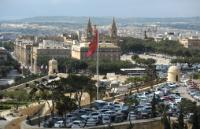 View of Floriana from the capital Valletta
