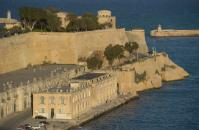 Fortifications protecting the capital Valletta