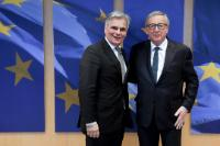 Visit of Werner Faymann, former Austrian Federal Chancellor, to the EC