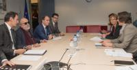 Visit of Panayotis Kouroublis, Greek Minister for Shipping and Island Policy, to the EC