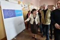 Visit by Christos Stylianides, Member of the EC, to Ukraine