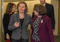 Visite de Rebeca Grynspan, secrétaire générale du secrétariat général ibéro-américain, à la CE