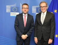Visit of Joăo Figueiredo, Member of the European Court of Auditors, to the EC