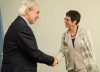Visite d'Ursula Mueller, sous-secrétaire générale des Nations unies aux Affaires humanitaires et coordonnatrice adjointe des secours d'urgence au Bureau de la coordination des affaires humanitaires, à la CE