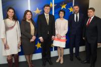 Visit of the Social Partners for the final exchange on the European Pillar of Social Rights, to the EC